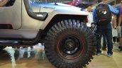 Mahindra Thar Daybreal front wheel at Nepal Auto Show 2017