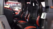 Mahindra Thar Daybreal seats at Nepal Auto Show 2017