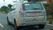 Mahindra U321 rear three quarters left side spy shot