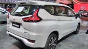 Mitsubishi Xpander rear three quarters right side at GIIAS 2017