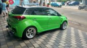 Modified Hyundai i20 by Custom Designz rear three quarters