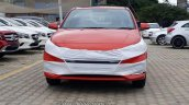 New Hyundai Verna 2017 Fiery Red colour front view