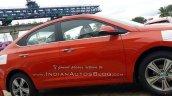 New Hyundai Verna 2017 Fiery Red colour side view