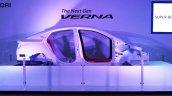 Next Generation Hyundai Verna Unveiled K2 chassis platform