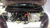 Nissan Note e-POWER engine bay at GIIAS 2017