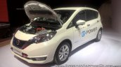 Nissan Note e-POWER front three quarters at GIIAS 2017