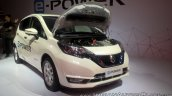 Nissan Note e-POWER front three quarters right side at GIIAS 2017
