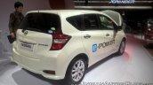 Nissan Note e-POWER rear three quarters at GIIAS 2017