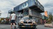Production BMW X2 in urban livery front