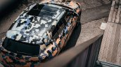 Production BMW X2 in urban livery top