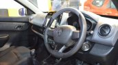 Renault Kwid 1.0L dashboard side view at Nepal Auto Show 2017