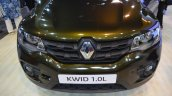 Renault Kwid 1.0L front fascia front view at Nepal Auto Show 2017