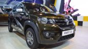 Renault Kwid 1.0L front three quarters at Nepal Auto Show 2017