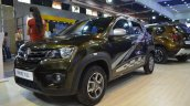 Renault Kwid 1.0L front three quarters left side at Nepal Auto Show 2017