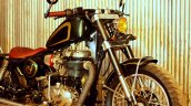 Royal Enfield Classic 350 Jajabor by Jedi Customs front right quarter