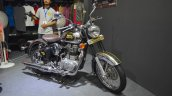 Royal Enfield Classic 500 Chrome at the Nepal Auto Show 2017