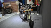 Royal Enfield Classic 500 Chrome front at the Nepal Auto Show 2017