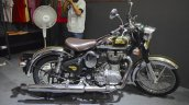 Royal Enfield Classic 500 Chrome side at the Nepal Auto Show 2017