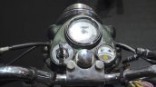 Royal Enfield Classic 500 Chrome speedometer at the Nepal Auto Show 2017