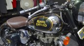 Royal Enfield Classic 500 Chrome tank at the Nepal Auto Show 2017