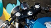 Royal Enfield Continental GT Grand Trunk Express by Federal Moto instrument cluster