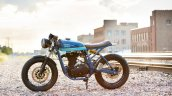 Royal Enfield Continental GT Grand Trunk Express by Federal Moto left side