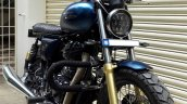 Royal Enfield Continental GT Scrambler 140 by Bulleteer customs front right quarter