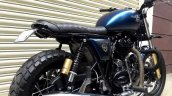 Royal Enfield Continental GT Scrambler 140 by Bulleteer customs rear right quarter