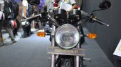 Royal Enfield Continental GT headlight at the Nepal Auto Show 2017