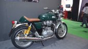 Royal Enfield Continental GT three quarter at the Nepal Auto Show 2017
