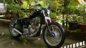 Royal Enfield Thunderbird 350 Lynx by Lazybone Motorcycles front right quarter