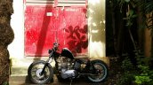 Royal Enfield Thunderbird 350 Lynx by Lazybone Motorcycles left side far