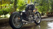 Royal Enfield Thunderbird 350 Lynx by Lazybone Motorcycles rear right quarter