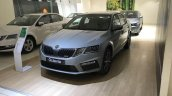 Skoda Octavia RS reaches indian dealerships front three quarters