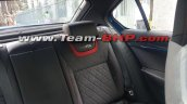 Skoda Octavia RS rear seat