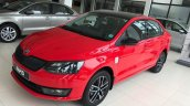 Skoda (Rapid) Monte Carlo front three quarters left side live image