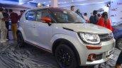Suzuki Ignis accessories front three quarters at Nepal Auto Show 2017