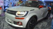 Suzuki Ignis accessories headlamp and foglamp insert at Nepal Auto Show 2017