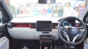 Suzuki Ignis accessories interior at Nepal Auto Show 2017