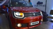 Suzuki Ignis front fascia at the Nepal Auto Show 2017