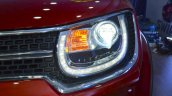 Suzuki Ignis headlamp at the Nepal Auto Show 2017