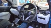 Suzuki Ignis interior at the Nepal Auto Show 2017