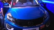 Tata Nexon at Ganpati Pandal Mumbai front