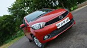 Tata Tiago AMT test drive review front headlamp and grille