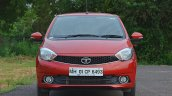 Tata Tiago AMT test drive review front view