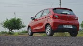 Tata Tiago AMT test drive review rear three quarters low