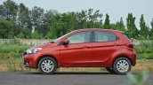 Tata Tiago AMT test drive review side view