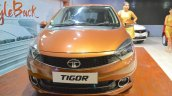 Tata Tigor front at Nepal Auto Show 2017