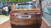 Tata Tigor rear at Nepal Auto Show 2017