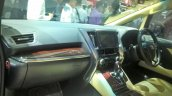 Toyota Alphard Hybrid at GIIAS 2017 dashboard left angle